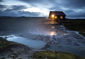 Iceland - Kjalvegur Trail - Hotspring at Hveravellir