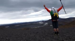viajar a pie Iceland